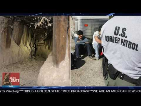 BUILD THE WALL: Border Patrol Finds MASSIVE Mexican Cartel Smuggling Tunnel