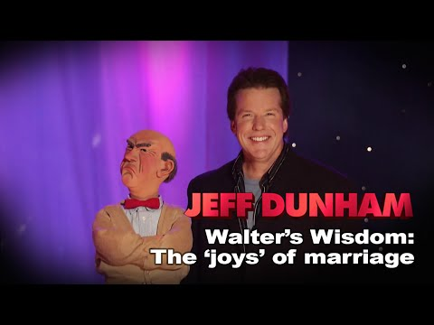 """""""Walter's Wisdom: The joys of marriage"""" 