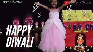 happy diwali 2019 | kids diwali celebration | Navya divya