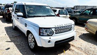 Copart Walk Around 7-16-2020 + 2012 Land Rover LR4