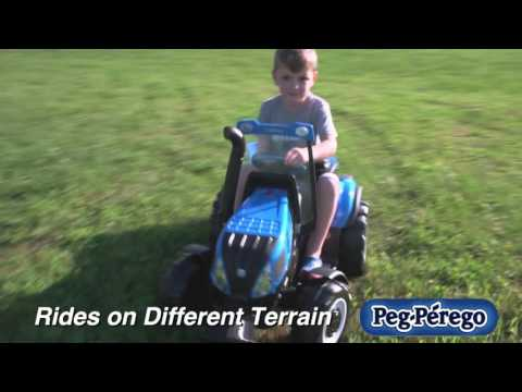 Tractor Toy - New Holland T8 Ride-On by Peg Perego