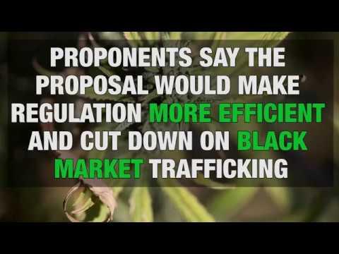 Oregon marijuana bills focus on merging programs, higher sales tax