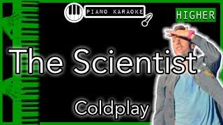 The Scientist (HIGHER +3) - Coldplay - Piano Karaoke Instrumental