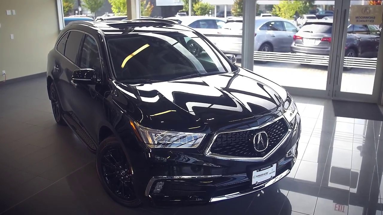 2017 Acura MDX Video Tour at Burrard Acura in Vancouver - YouTube
