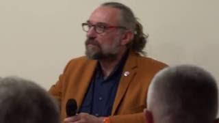 Mateusz Kijowski na spotkaniu Klubu Obywatelskiego