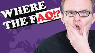 Wie schnell findest DU es? | Where the FAQ
