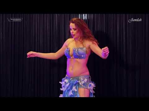 Jamilah with Khader Ahmad- Belly dance - DRUM SOLO - 2017