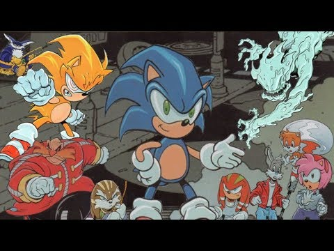 The Sonic Adventure Arc Sonic The Comic Youtube