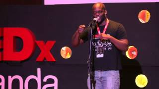 Live Arts-Spoken Words: Lukeny Bamba/Musician at TEDxLuanda 2013