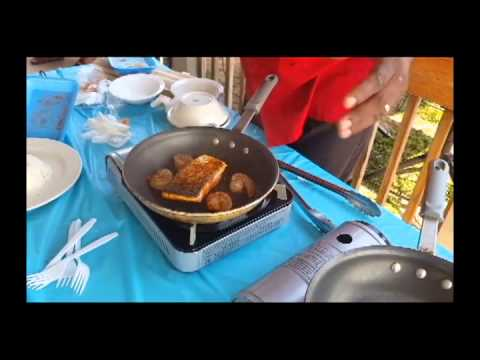 Chef Ron Cook Demo 7 26 2015