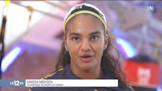 Anissa Meksen : 17 fois championne du monde de boxe