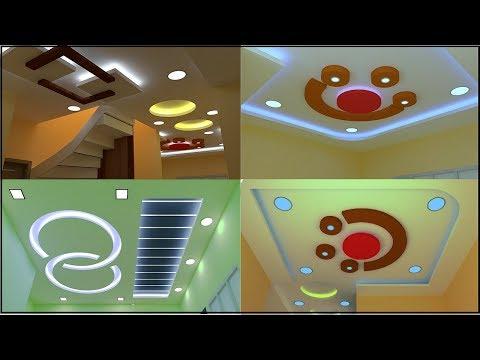 Best gypsum false ceiling design for living and bedroom   Ceiling design 2019 [vinupinteriorhomes]