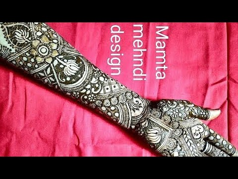 Download Lotus Flowers Mehndi Desigs Arabic Full Hande Design Stu