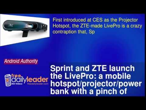 Sprint And Zte Launch The Livepro: A Mobile Hotspot