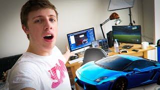 MY ROOM SETUP & NEW CAR WRAP!!