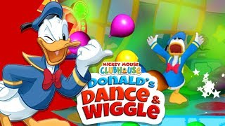 Donald's Dance & Wiggle | Mickey Mouse Clubhouse Game for kids