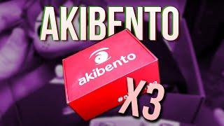 Potrójny unboxing Akibento!