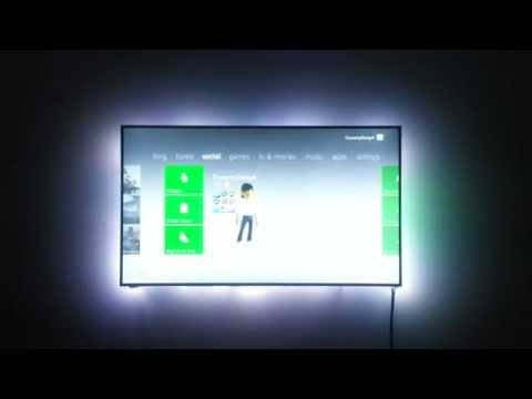AmbiScreen - responsive ambient back-lighting for any screen - Use