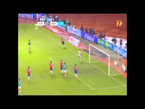 Costa Rica vs Mexico (2-1) HD ELIMINATORIA TV AZTECA Videos De Viajes