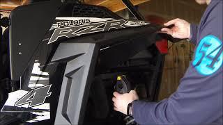 Mudbuster Fender Flare Install - '18 RZR S4 900