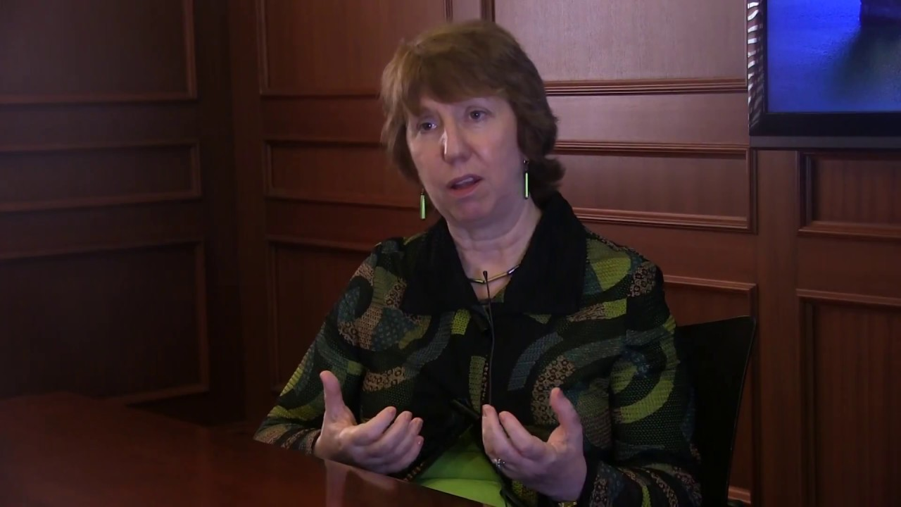 Profiles in Peace: Lady Catherine Ashton
