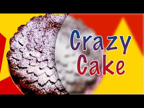 Сумасшедший пирог ★ Crazy Cake ★ Веганский рецепт