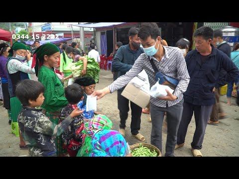 Bảo Vệ Sức Khỏe Cộng Đồng Cho 1000 Người ,Chợ Phiên Mèo Vạc Hà Giang