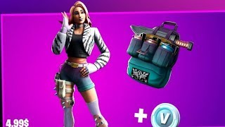 HOW TO BUY THE WILDE STARTER PACK SKIN LIVE GAMEPLAY #FORTNITE