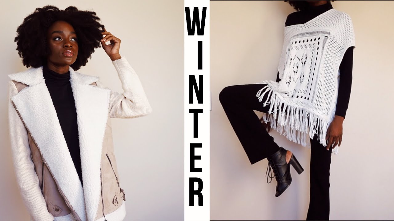 WINTER OUTFIT IDEAS - WHAT TO WEAR IN WINTER! 7