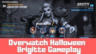 Overwatch Halloween 2018 - Brigitte Gameplay