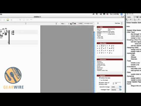 Notion Music Notation Software: Clefs, Slurs, Arpeggios And More