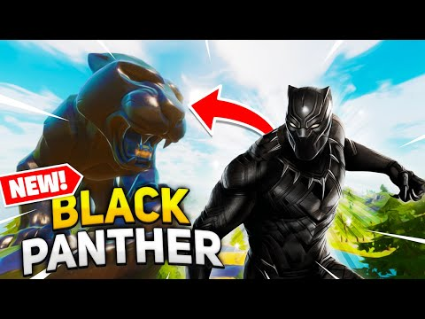 BLACK PANTHER Appeared In Fortnite Season 4! (New Secret Update)