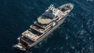 107m ULYSSES From The Sky, NEW 4 Deck 'Dragon' Trimaran, Top 17 Superyachts & much more