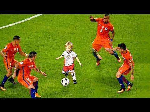 KIDS IN FOOTBALL - FUNNY FAILS, SKILLS, GOALS