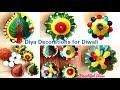 #DIY#Diya Decoration Making at Home For Diwali/ #Beautiful Diya Decoration Ideas/ #Beautiful Ideas