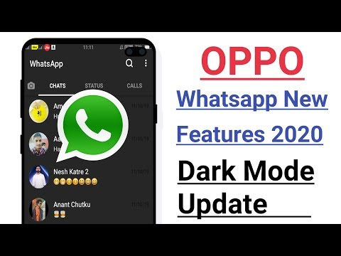OPPO Whatsapp New Featurs 2020 Dark Mode Update