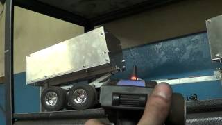 JRP RC - Rc Dump Truck Pup Trailer Test