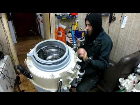 Замена подшипника в стиральной машине Siemens часть 1