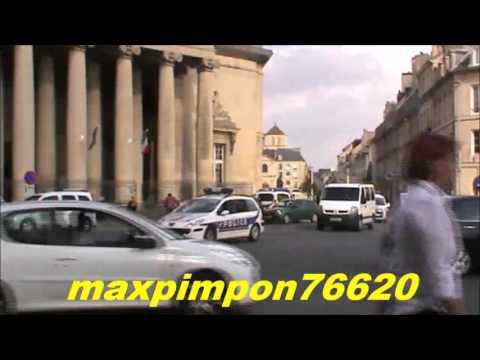 Compilation of French police vehicles