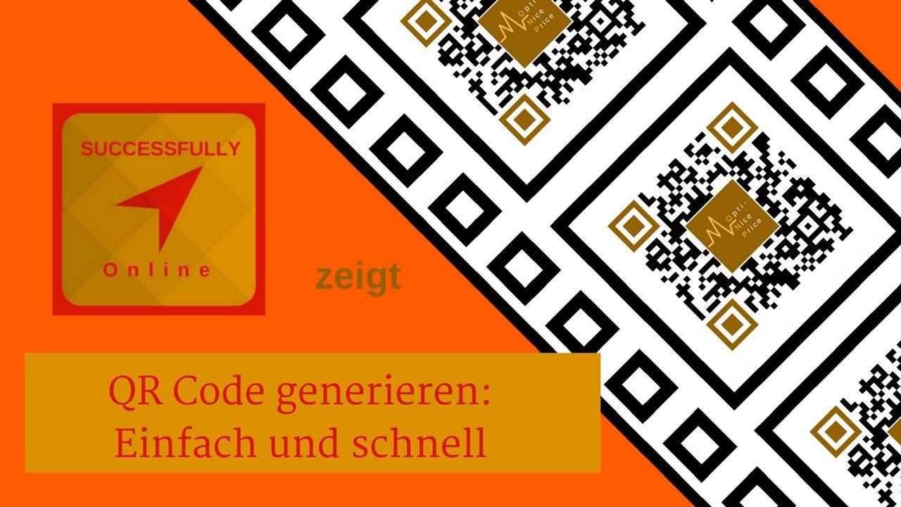 QR Code erstellen, einfach und schnell [Tutorial/deutsch ...