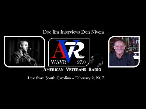 American Veterans Radio Interviews Don Nivens live from South Carolina February 2, 2017