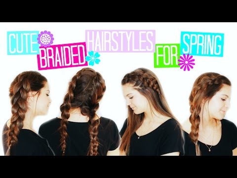Cute & Easy Braided Hairstyles for Spring!