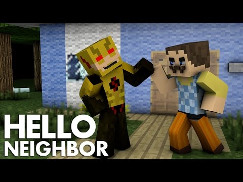 Minecraft - The Reverse Flash teams up with Hello Neighbor & Batman Moves House (minecraft Roleplay)