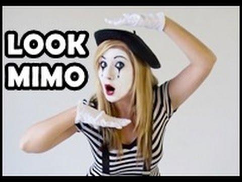 MAQUILLAJE DE MIMO | Como maquillarse en Carnaval - YouTube