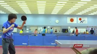 Тренировки сборной Японии по настольному теннису