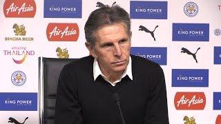 Claude Puel Full Pre-Match Press Conference - Leicester v Burnley - Premier League