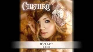 CHIHIRO アルバム「DRESS」より「Too Late」 この曲、名曲過ぎる(^ω^*)/ ht...
