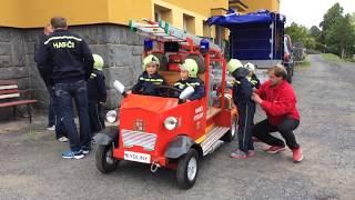 Čachrov - Hry bez hranic - Malí hasiči z Kydlin