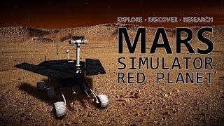 MARS SIMULATOR - RED PLANET PC Gameplay 1080p 60fps