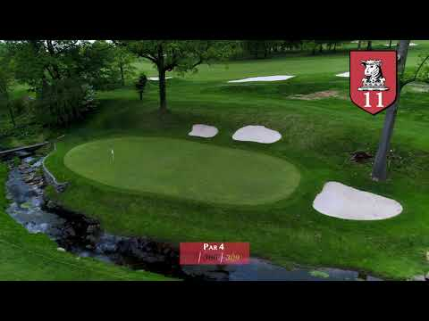 GAP Course Flyover - Huntingdon Valley Country Club